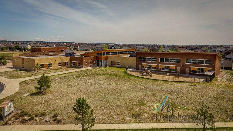 Ranch Creek Elementary School in Wolf Ranch