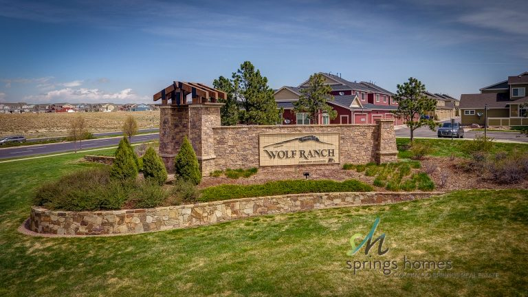 Wolf Ranch neighborhood in Briargate