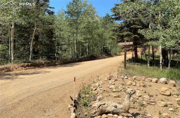 Easy access to this lot from Eagle Mountain Rd to Coffee Pot Road!